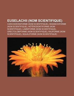 Euselachii (Nom Scientifique) - Carcharhiniforme (Nom Scientifique), Hexanchiforme (Nom Scientifique), Heterodontiforme (Nom...