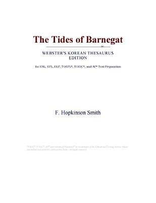The Tides of Barnegat (Webster's Korean Thesaurus Edition) (Electronic book text): Inc. Icon Group International