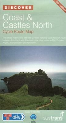 Coast and Castles North - Sustrans Cycle Routes Map - Sustrans Official Cycle Route Map and Information Covering the 172 Mile...