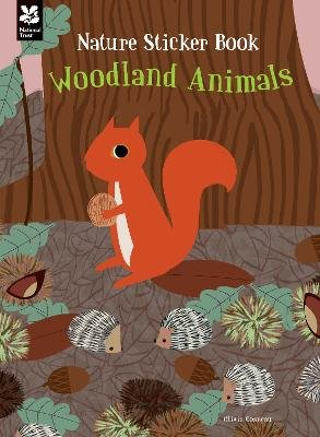 My Nature Sticker Activity Book: Woodland Animals (Paperback): Olivia Cosneau