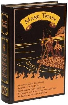 Mark Twain - Five Novels (Leather / fine binding): Mark Twain
