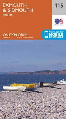 Exmouth and Sidmouth (Sheet map, folded, September 2015 ed): Ordnance Survey