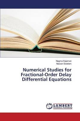 Numerical Studies for Fractional-Order Delay Differential Equations (Paperback): Kajaman Nagma, Sweilam Nasser