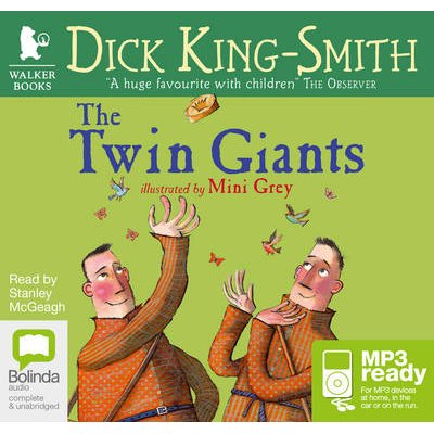 The Twin Giants (Vinyl record, Unabridged edition): Dick King-Smith