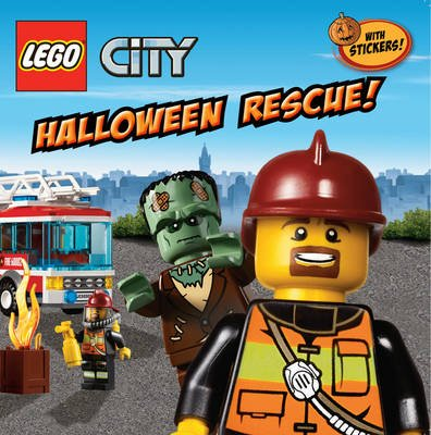 LEGO CITY: Halloween Rescue! (Paperback): Trey King