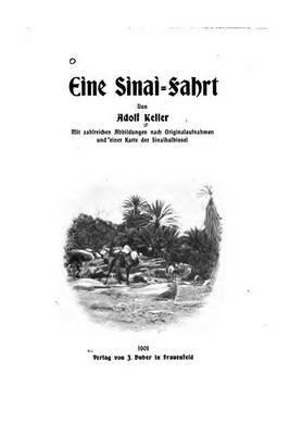 Eine Sinai-Fahrt (German, Paperback): Adolf Keller