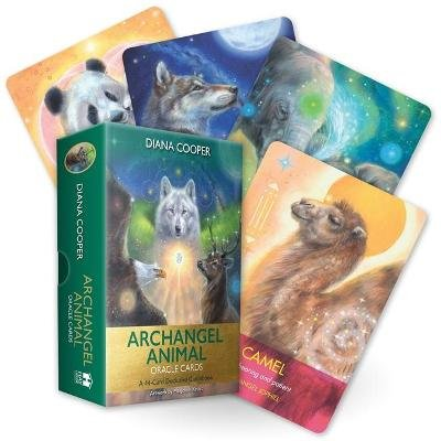 Archangel Animal Oracle Cards - A 44-Card Deck and Guidebook (Cards): Diana Cooper