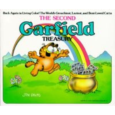 The Second Garfield Treasury (Paperback, Reissue): Jim Davis
