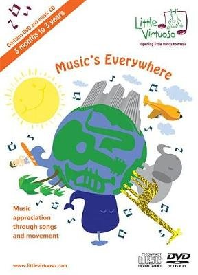 Music's Everywhere - Music Appreciation Through Songs and Movement (DVD Audio): Adam Winkler, Tricia Winkler, Christy...