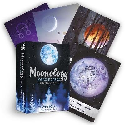 Moonology Oracle Cards - A 44-Card Deck and Guidebook (Cards): Yasmin Boland