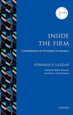 Inside the Firm - Contributions to Personnel Economics (Paperback): Edward P. Lazear