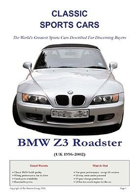 Bmw Z3 M Coupe M Roadster Buyers Guide Electronic Book Text