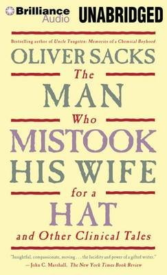 The Man Who Mistook His Wife for a Hat (MP3 format, CD, Unabridged): Oliver W Sacks