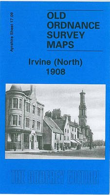 Irvine (North) 1908 - Ayrshire Sheet 17.09 (Sheet map, folded): Gilbert Torrance Bell