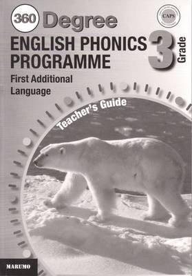 360 Degree English Phonics Programme - Gr 3: Teacher's Guide (Paperback):