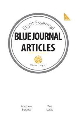 Eight Essential Blue Journal Articles (Paperback): MR Matthew Burgess
