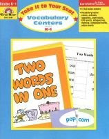 Vocabulary Centers, Grades K-1 - Grades K-1 (Paperback, Teacher): Jo Ellen Moore