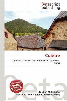 Cul Tre (Paperback): Lambert M. Surhone, Mariam T. Tennoe, Susan F. Henssonow