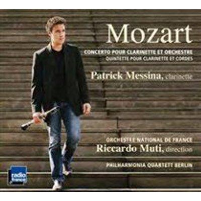Various Artists - Mozart: Concerto Pour Clarinette Et Orchestre/... (CD): Wolfgang Amadeus Mozart, Riccardo Muti, Patrick...