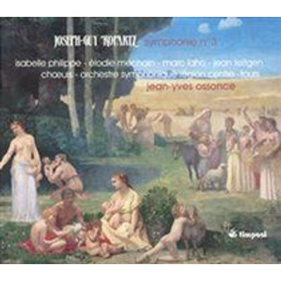 Various Artists - Joseph-Guy Ropartz: Symphonie No. 3 (CD): Joseph Guy Ropartz, Isabelle Philippe, Elodie Mechain, Marc Laho,...