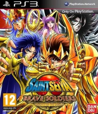 Saint Seiya Brave Soldiers (PlayStation 3, DVD):