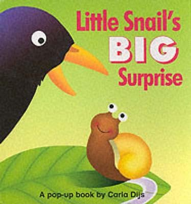 Little Snail's Big Surprise (Hardcover): Carla Dijs