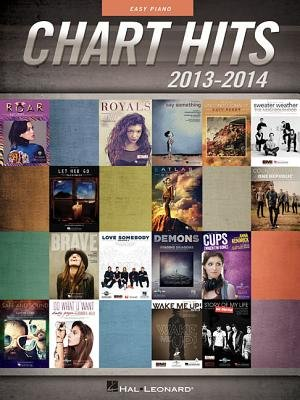 Chart Hits of 2013-2014 Easy Piano Songbook Bk (Paperback):