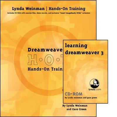 Dreamweaver 3 Hands-on Training Bundle (Paperback): Lynda Weinman, Garo Green
