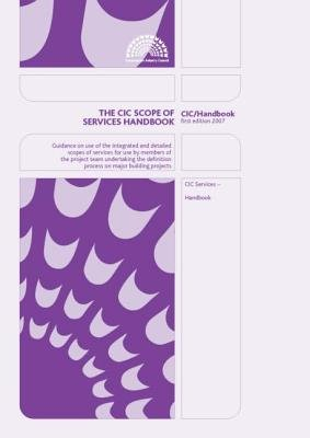The CIC Scope of Services (Paperback):