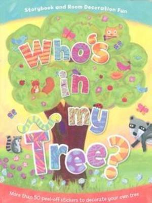 Who's in My Tree Wall Art Sticker Book (Novelty book):