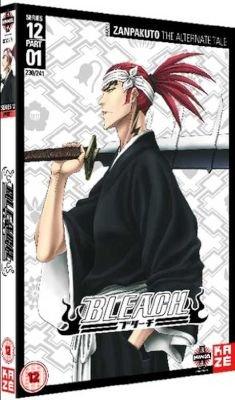 Bleach - Season 12: Part 1 - Episodes 230-241 (Japanese, English, DVD)