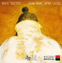 Johann Sebastian Bach - Suites 1 - 3 (Apap) (CD): Johann Sebastian Bach, Jean Marc Apap