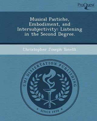 Musical Pastiche (Paperback): Christopher Joseph Tonelli