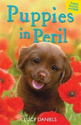 Puppies in Peril - Pup at the Palace & Dog at the Door (Paperback): Lucy Daniels
