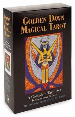 Golden Dawn Magical Tarot - A Complete Tarot Set (Paperback, 2): Chic Cicero, Sandra Tabatha Cicero