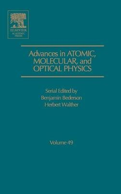Advances in Atomic, Molecular, and Optical Physics, Volume 34 (Hardcover): Benjamin Bederson, Herbert Walther