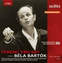 Various Artists - Ferenc Fricsay Conducts Bela Bartok (CD): Bela Bartok, Ferenc Fricsay, Rias Kammerchor, Chor der St....
