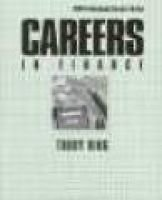 Careers in Finance (Hardcover, 2nd ed): Trudy Ring