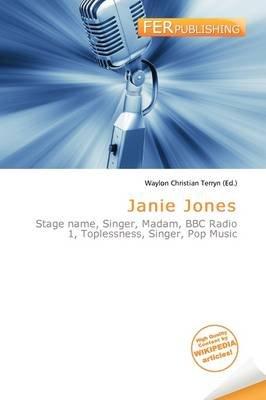 Janie Jones (Paperback): Waylon Christian Terryn