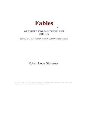 Fables (Webster's Korean Thesaurus Edition) (Electronic book text): Inc. Icon Group International