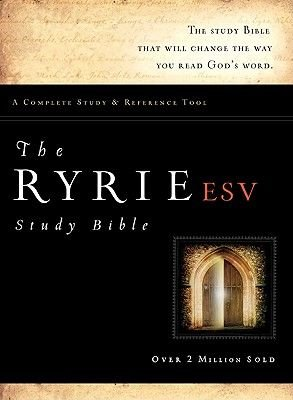 Ryrie Study Bible-ESV (Leather / fine binding, ESV Texttion:): Charles C. Ryrie