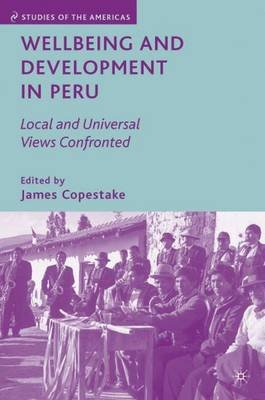 Wellbeing and Development in Peru - Local and Universal Views Confronted (Hardcover): James Copestake