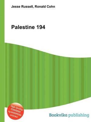 Palestine 194 (Paperback): Jesse Russell, Ronald Cohn