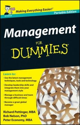 Management for Dummies?, UK Edition (Electronic book text, Portable ed.): Richard Pettinger, Bob Nelson, Peter Economy