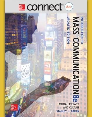 Connect Mass Comm Access Card for Baran Update Edition (Online resource, 8th): Stanley Baran
