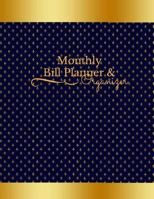 monthly bill planner organizer budget planners paperback