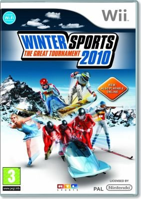 Winter Sports 2010 - The Great Tournament (Nintendo Wii, DVD-ROM):