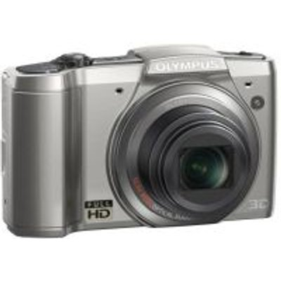 Olympus SZ-20 Advanced Compact Digital Camera (16MP)(Silver):