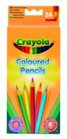 Crayola Coloured Pencil Crayons (Pack of 24)(Assorted Colours):