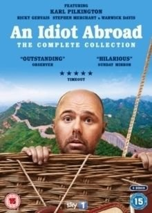 An  Idiot Abroad: The Complete Collection (DVD): Karl Pilkington, Ricky Gervais, Stephen Merchant, Warwick Davis